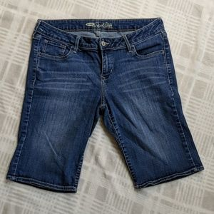 Old Navy The Rock Star Fit Bermuda Shorts